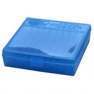 MTM PLASTIC AMMO BOXES (6) BLUE 100 Round 40 S&W  45 ACP - FREE SHIPPING