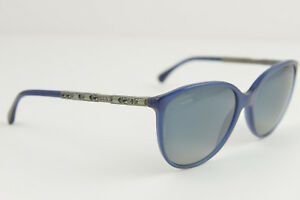 Chanel women's Blue polarized designer sunglasses 5306-B c.1499K4 140 3P