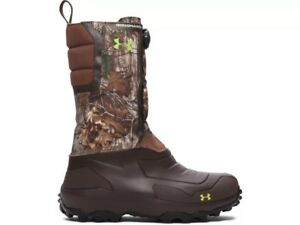 Under Armour UA Ridge Reaper Pac 1200 Boot Size 11 Mens Insulated Real Tree Camo
