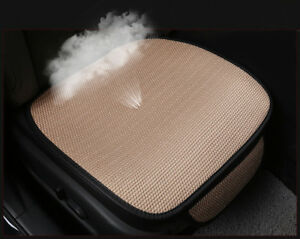 Universal Car Seat Cover Pad Mat Breathable Ice Silk Auto Chair Cushion Protect