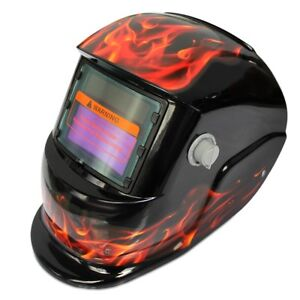 Solar Energy Automatic Changeable Light Electric Welding Protective Helmet with