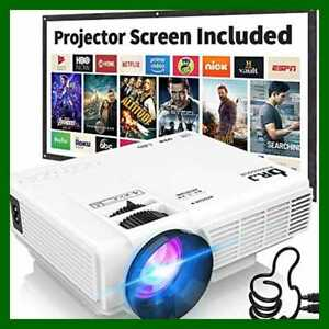 HI 04 1080P Supported 4Inch Mini Projector W 170