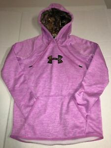 NWT Womens XS UA UNDER ARMOUR STORM 1 CG RealTree Loose Hoodie 1286058-723