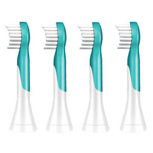 Sonicare HX603494 Kids�Replacement Toothbrush Heads f HX631107 (4 Pack)