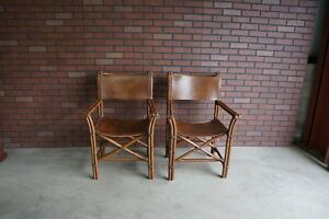 Directors Chairs ~ Designer Chairs ~ Mid Century Chairs ~ Pair of Chairs