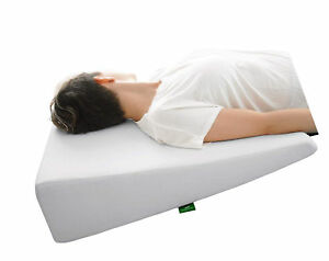 Bed Wed Pillow With Memory Foam Top By Cushy Form - Best For Sleeping Acid Leg