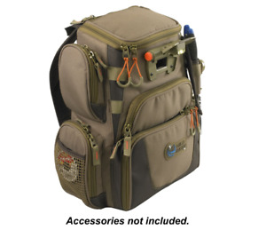 Wild River Tackle Tek Recon Lighted Compact Backpack - Khaki  NEW IN BOX!