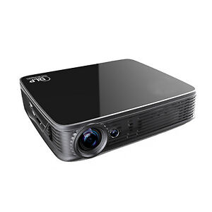 2019 3D UHD 4K Android5.1 DLP Home Theater Video Projector HDMI 1080P LED Light