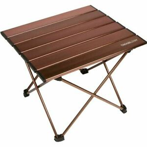 Trekology Small Camping Side Table Folding Beach Table Camp Picnic Backpacking