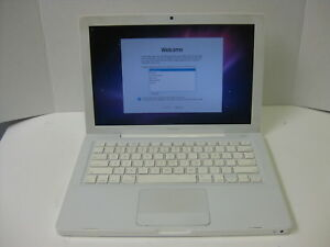Apple A1181 C2D T8100  2.10GHZ 160GB 1GB  MB402LLA OS X Snow Leopard #2