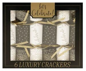 The Gift Wrap Company Party Crackers Celebrate Pack of 6 11311 $22.00
