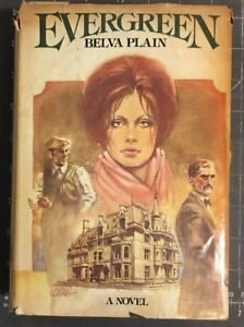 Evergreen by Belva Plain (1978 HCDJ Book) VG