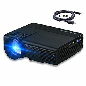 DIHOME 2017 HD MULTIMEDIA LCD PROJECTOR DHP5 BRAND NEW IN BOX