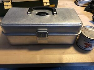 Umco Tackle Box With Vintage Lures And Supplies!!