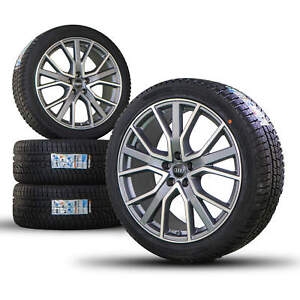 Audi 20 inch rims A6 S6 4K C8 Competition winter tires winter wheels S line NEW