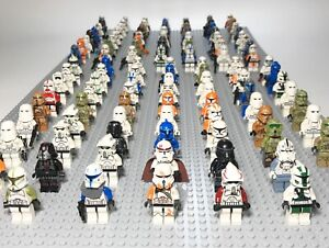 Lego Star Wars Clone Storm Troopers Captain Commander Minifigures Lot of 4