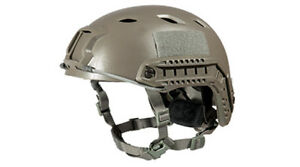 Lancer Tactical ACH Base Jump Airsoft Military Simulation Helmet Foliage Green
