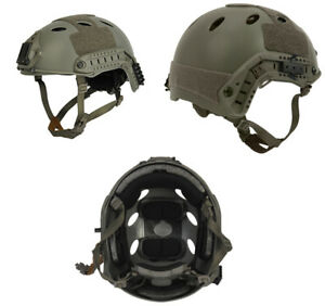 Lancer Tactical PJ Type Airsoft MilSim ATH Helmet Foliage Green MedLrg CA-725MG