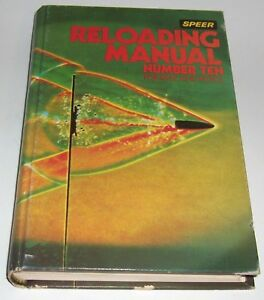 Speer reloading manual #10  - for rifle and pistol   -  1979