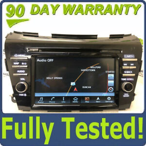 2015 - 2016 Nissan Murano OEM GPS AM FM Radio CD Information Receiver BOSE