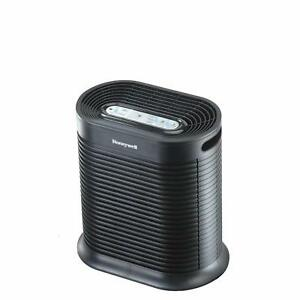 Black 155 sq. ft. HPA100 True HEPA Allergen Remover for Home Office
