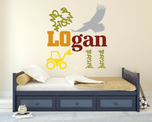 Wild West Personalized & Custom Wall Decal Vinyl Sticker - Nursery - Home