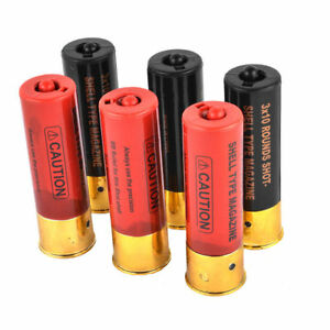 Airsoft Tactical M56 Shell 6 Pack Double Eagle Shotgun Cartridge MultiShot 30rds