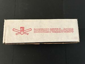 1985 Donruss Baseball Factory Sealed Complete Set - WRAPPED - 660 cards