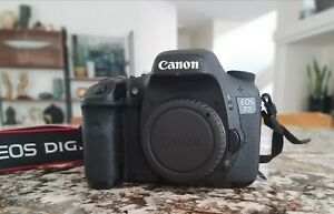 Canon 7D EOS DSLR Camera Body Only Low Shutter Count 13k Verified