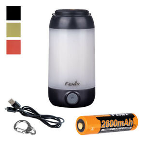 FENIX CL26R 400 Lumen White amp; Red LED Rechargeable Camping Lantern with Battery