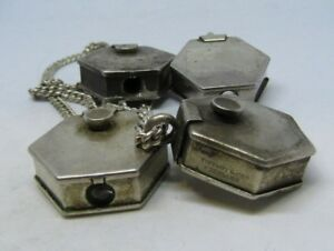 Tiffany & Co. Sterling Silver Keychain Light lot of 4 Antique Old 925