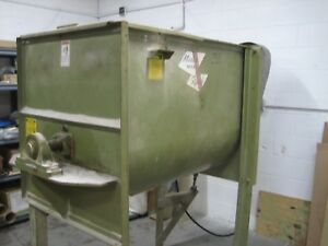 Used 15 cubic foot Marion Paddle Mixer - Model 2030