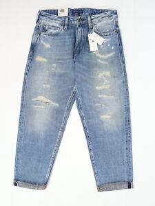 Levis Made & Crafted Jeans 29 Banzai Pipeline Draft Taper Distressed Selvedge