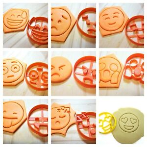 Emoji Cookie Cutters Full Set  20 pieces !!
