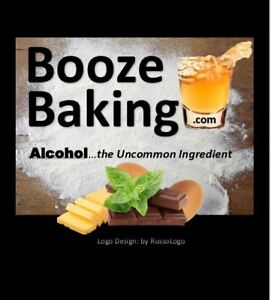 BoozeBaking.com *BOOZE BAKING* Cookbook Baking Bakery Blog Cooking Show DOMAIN