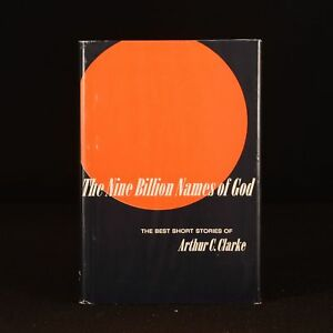 1967 The Nine Billion Names of God Arthur C Clarke Short Stories First Ed Dustwr