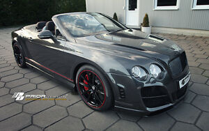 Bentley Continental GTGTC Prior Design G1 Body Kit Genuine TUV Certified