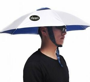 Outdoor Multifunction Foldable Sun Rain Umbrella Hat Cap for Fishing Camping