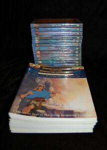 Living Scriptures The Book of Mormon COMPLETE Set Of 15 DVDs  Activity Books