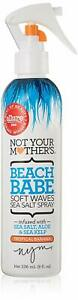 Not Your Mother's Beach Babe Soft Waves Sea Salt Spray, Tropical Banana Scent