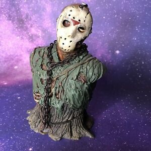 NECA Friday The 13th Jason Voorhees Resin Mini Bust Rare Loose DMG