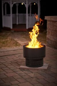 Smokeless Fire Pit RV Portable for Camping Outdoor Best Wood Pellet Burning Camp