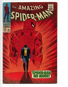 Amazing Spider-Man #50 (1967 Marvel Comics) 1st App of the Kingpin