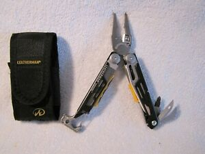 Leatherman Signal Multi-Tool pre owned with Free Sheath