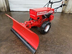 Gravely Professional 16 Tractor With Tire Chains And 48