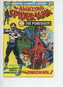 Amazing Spider-Man #129 (1973 Marvel Comics) 1st App of the Punisher