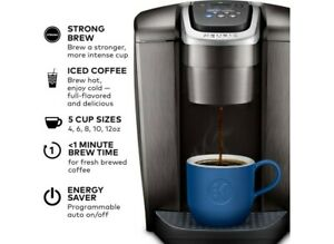Keurig K-Elite Single Serve [Brushed Silver] Coffee Maker*Free Shipping*