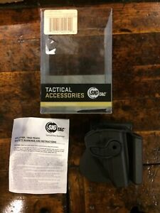 SigTac Retention Roto Paddle Holster w/Mag Pouch HOL-RPR-IMP-KEL1-P 3AT