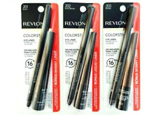 Revlon Colorstay 16Hr Eyeliner with 1 Bonus Skinny Liquid Liner (Choose Color)