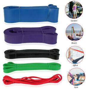 Sport Resistance Bands Loop Exercise Yoga Elastic Workout Fitness Training Lot
